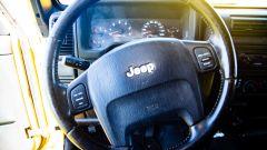 Jeep Wrangler Rubicon 4x4 Limousine 2006, il volante
