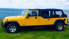 Jeep Wrangler Rubicon 4x4 Limousine 2006, lato sinistro