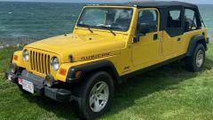Jeep Wrangler Rubicon 4x4 Limousine 2006, vista 3/4 anteriore