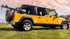 Jeep Wrangler Rubicon 4x4 Limousine 2006, vista 3/4 posteriore