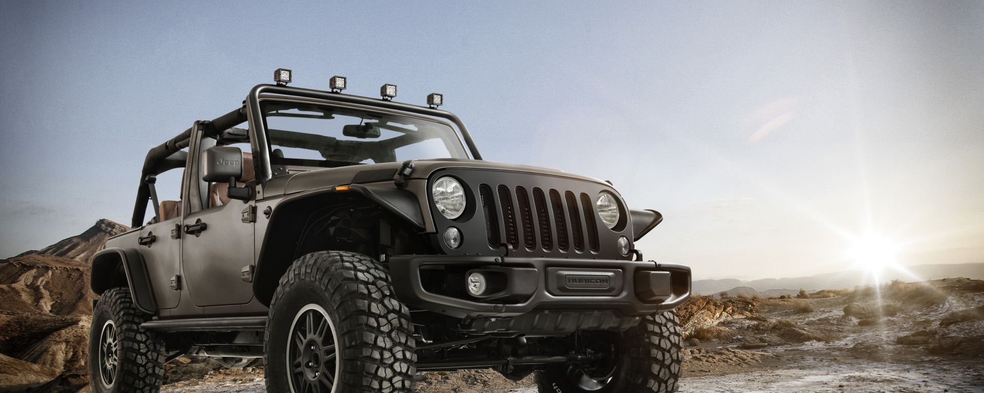 Jeep Wrangler Rubicon Stealth by Mopar