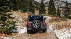 Jeep Wrangler Unlimited 2021, il posteriore