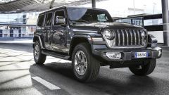 Jeep Wrangler Unlimited Sahara, nel 2020 il mild hybrid