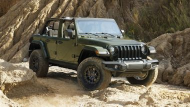 Jeep Wrangler Willys, XTreme Recon Package di serie