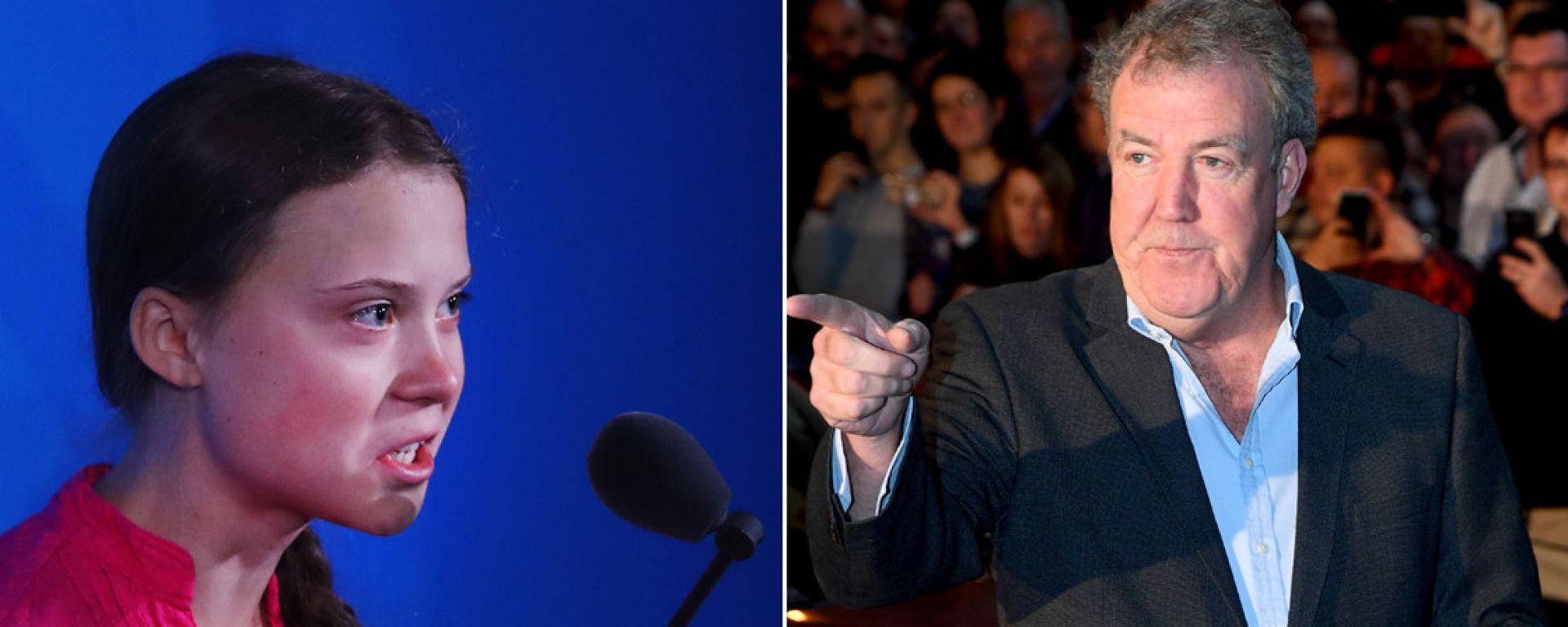 Jeremy Clarkson contro Greta Thunberg, ma la figlia risponde