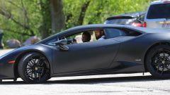 Jeremy Neves e Adrian Zamarripa durante il giro in auto