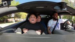 Jeremy Neves e Adrian Zamarripa: il giro in auto