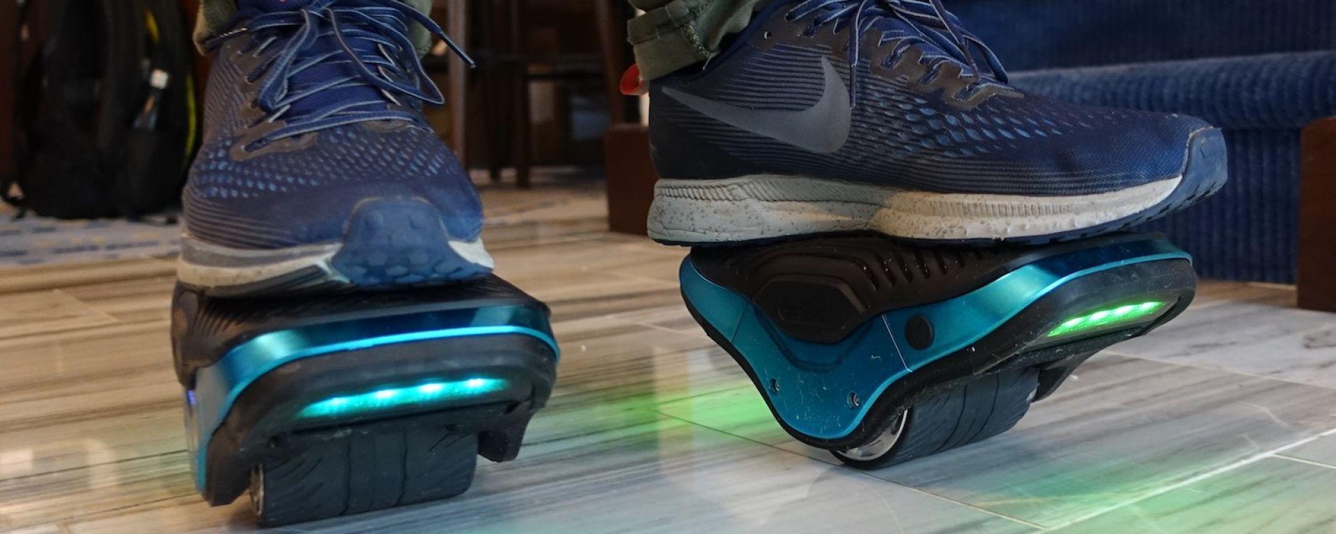 "Jetson Motokicks: al CES 2019 le scarpe ""a guida autonoma"""