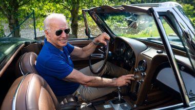 Joe Biden è un grande appassionato di auto