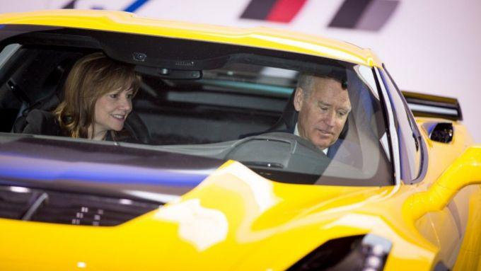 Joe Biden passione Corvette