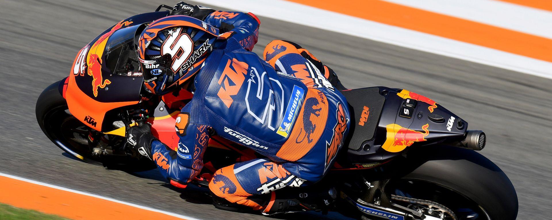 Johann Zarco con il casco Race-R Pro GP, l'unico omologato FIM