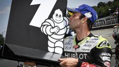 Johann Zarco festeggia la pole position al GP di Rep. Ceca 2020 di Brno