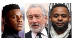John Boyega, Robert De Niro, Gerard McMurray