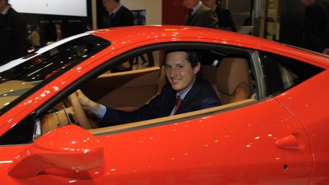 John Elkann, presidente e CEO Ferrari ad interim
