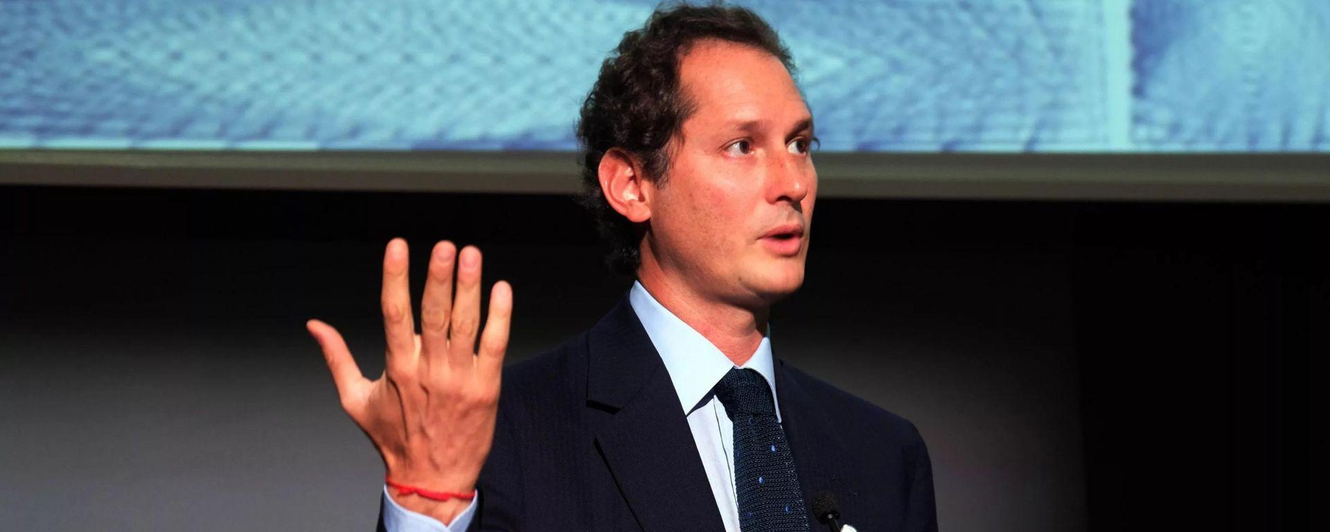 John Elknann, presidente di FCA