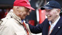 John Surtees e Niki Lauda