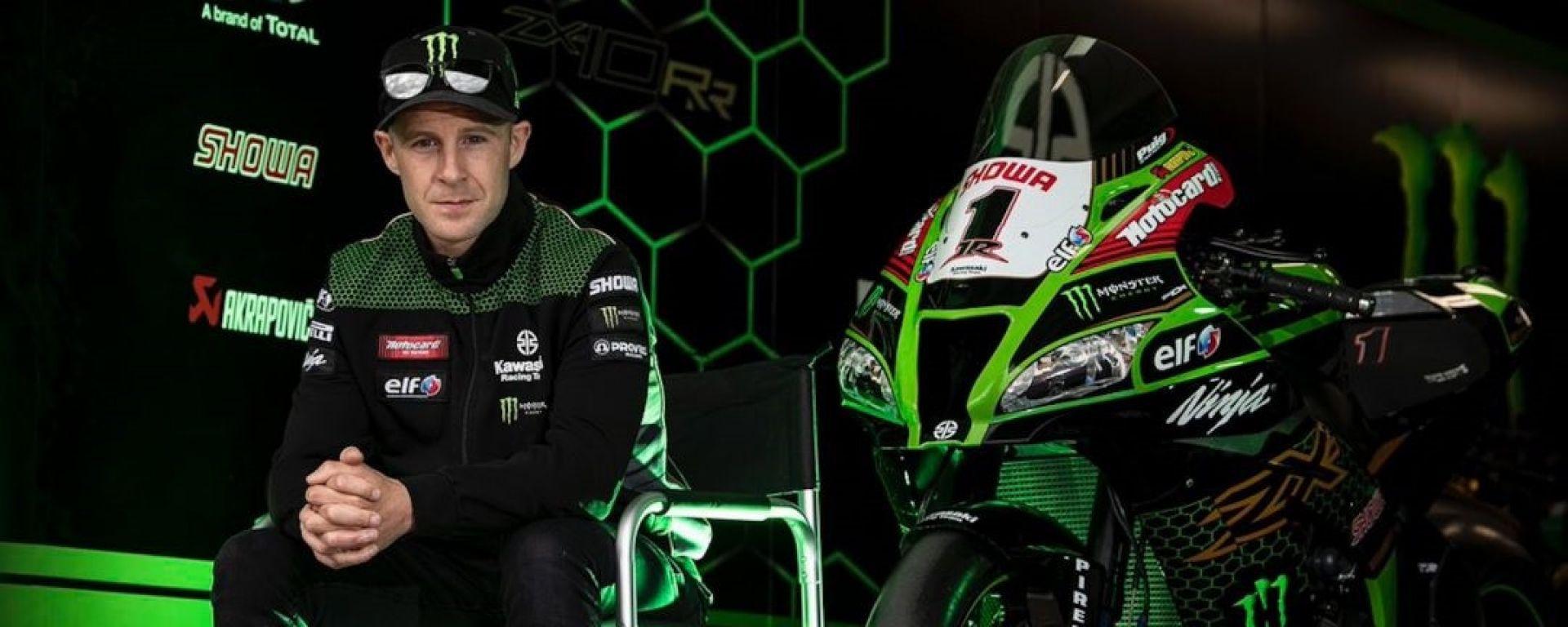 Jonathan Rea, cinque volte campione del mondo Superbike con la Kawasaki