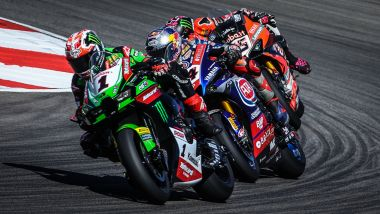 Jonathan Rea (Kawasaki), Toprak Razgatlioglu (Yamaha) e Scott Redding (Ducati), i tre assi della Superbike 2021