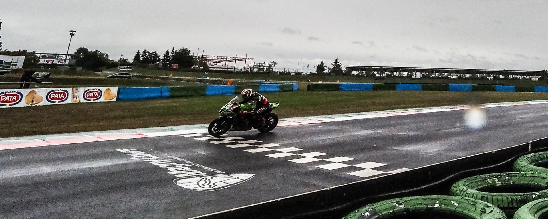 Jonathan Rea vince la Superpole Race di Magny Cours 2020