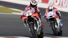 Jorge Lorenzo e Andrea Dovizioso