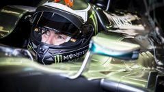 Jorge Lorenzo e la sua prova sulla Mercedes F1 2014 - Silverstone