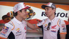 Jorge Lorenzo e Marc Marquez (Honda Repsol Team)
