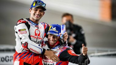 Jorge Martin e Johann Zarco (Ducati Pramac)