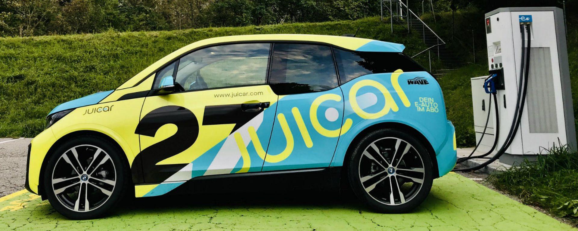 Juicar: il noleggio smart di auto elettriche arriva in Italia