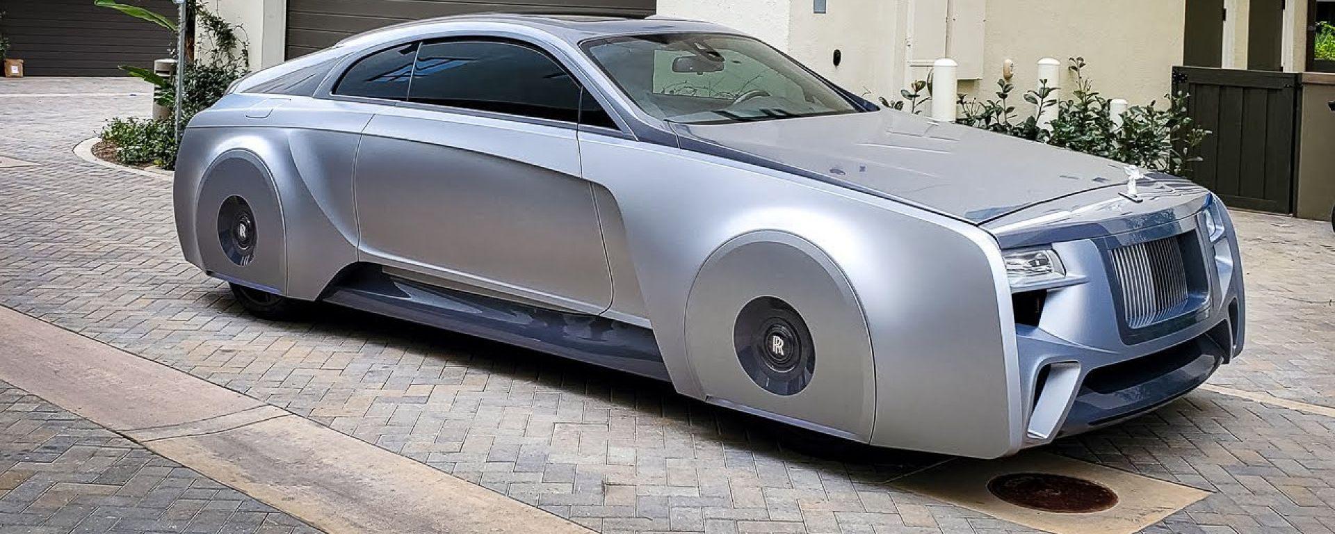 Justin Bieber e la Rolls-Royce Wraith futuristica: il video