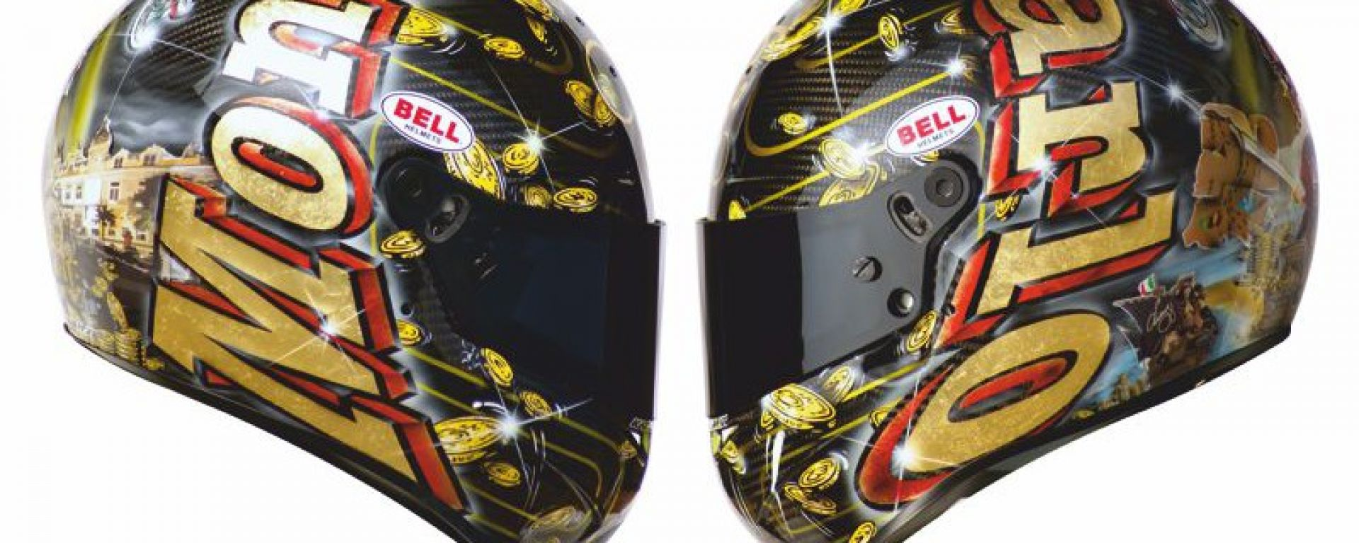 Kaos Design: un casco speciale per Liuzzi