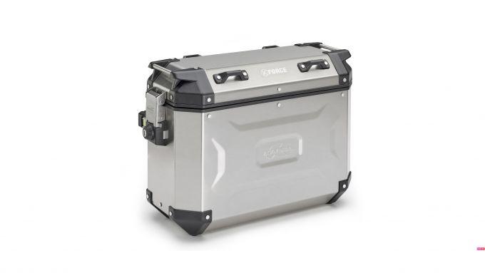 Kappa K'Force: la valigia in alluminio da 37 litri