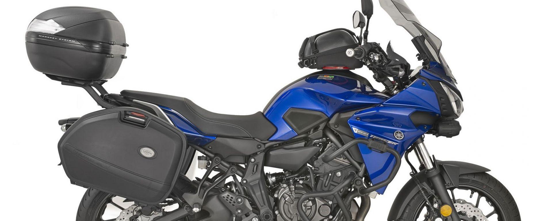 Kappa: kit da viaggio per Yamaha Tracer 700