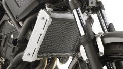 Kappa KPR: la trama a rete serve a raffreddare il motore grazie al passaggio dell' aria