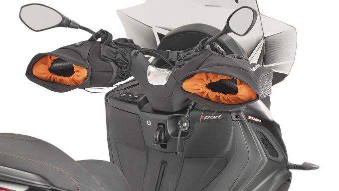 Kappa KS604: coprimanopole riscaldate universali per scooter e moto