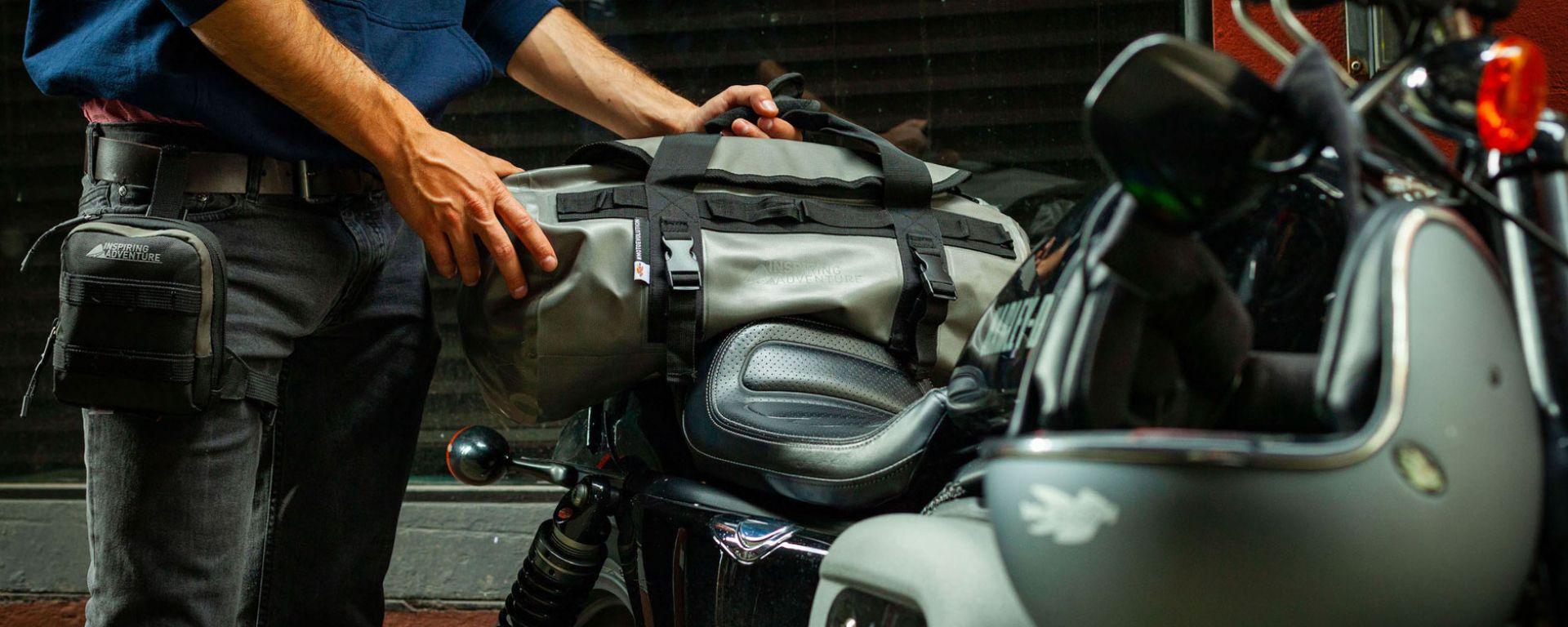 Kappa Raw409, borsone da viaggio per la moto