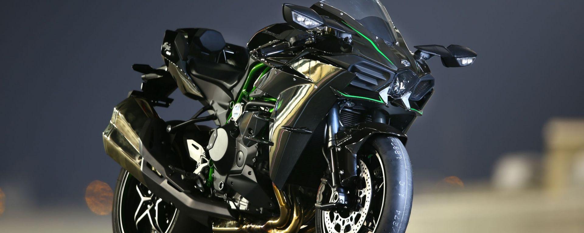 Kawasaki: a Bonneville la H2R torna a caccia del record di velocità