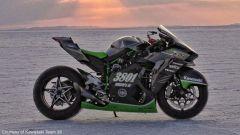 Kawasaki: a Bonneville la H2R torna a caccia del record di velocità - Immagine: 3
