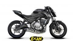 Kawasaki e EXAN: due scarichi completi per la Z650 - Immagine: 3