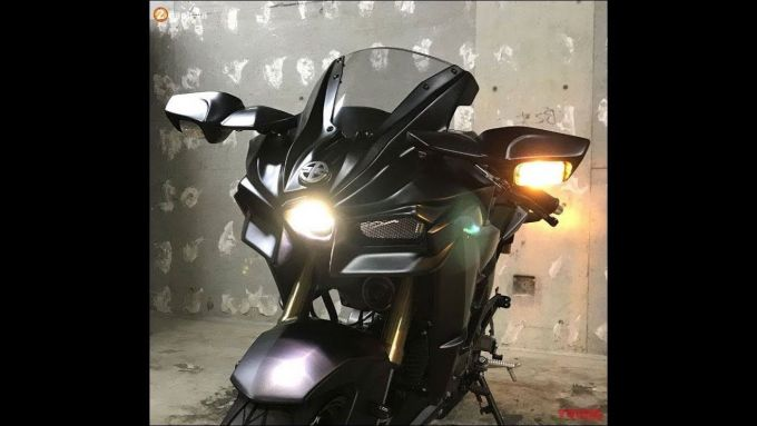 Kawasaki h2 125 cc: il frontale