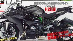 Kawasaki H2 GT: è questa la nuova Supercharged per EICMA 2017? - Immagine: 1