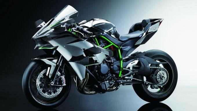 Kawasaki H2R: la moto con compressore raggiunge i 310 CV