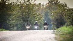 Kawasaki, Honda e Yamaha in parata