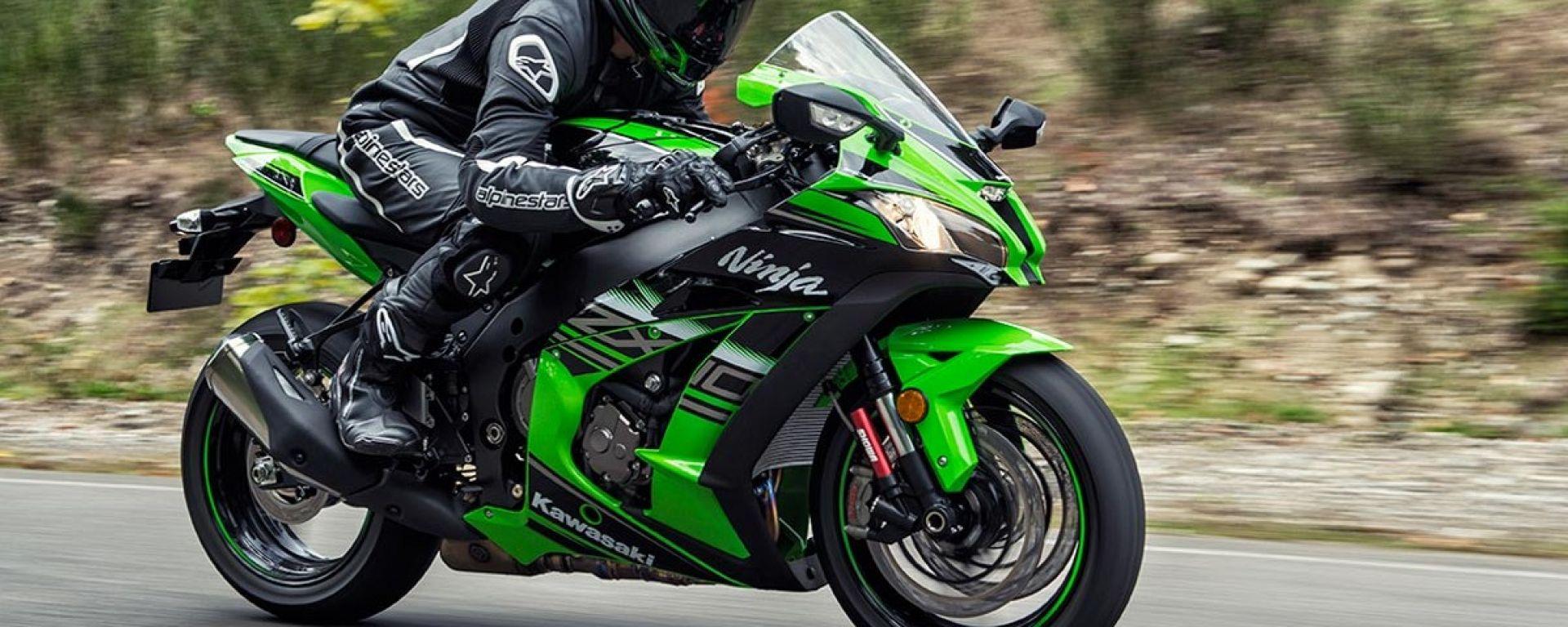 Kawasaki: in rampa di lancio la nuova Ninja ZX-10R. Ecco come cambia
