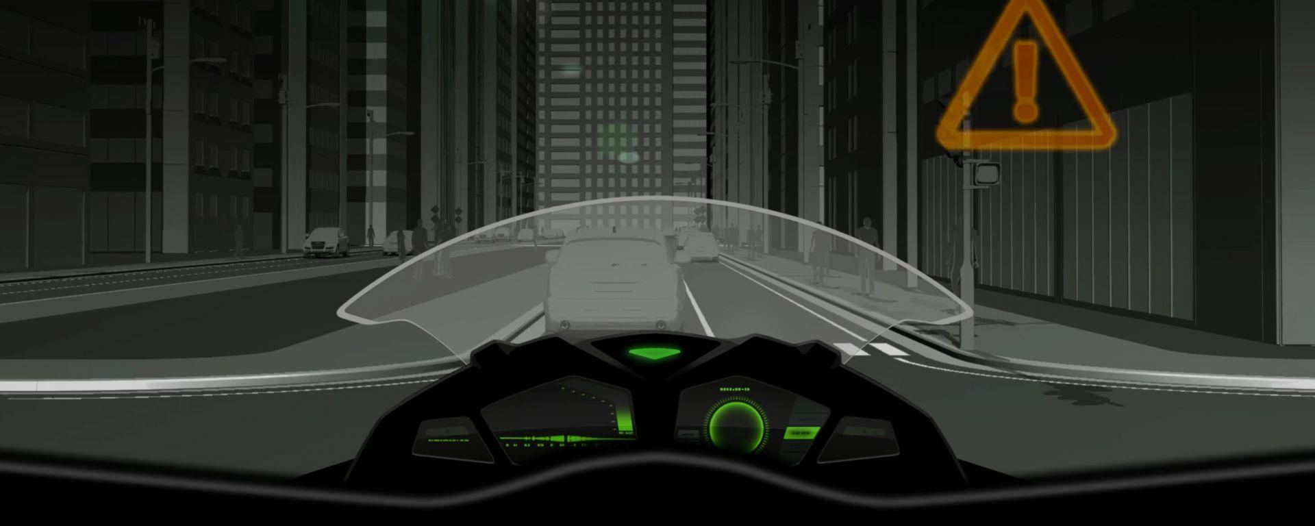Kawasaki: l'intelligenza artificiale arriverà anche sulle moto