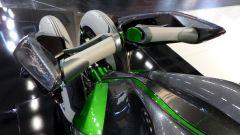 Kawasaki J Concept, anche il manubrio è futuristico