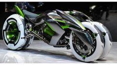 Kawasaki J Concept: la moto a quattro ruote in video - Immagine: 1