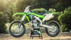 Kawasaki KX250F 2017: ora è più leggera e potente - Immagine: 7