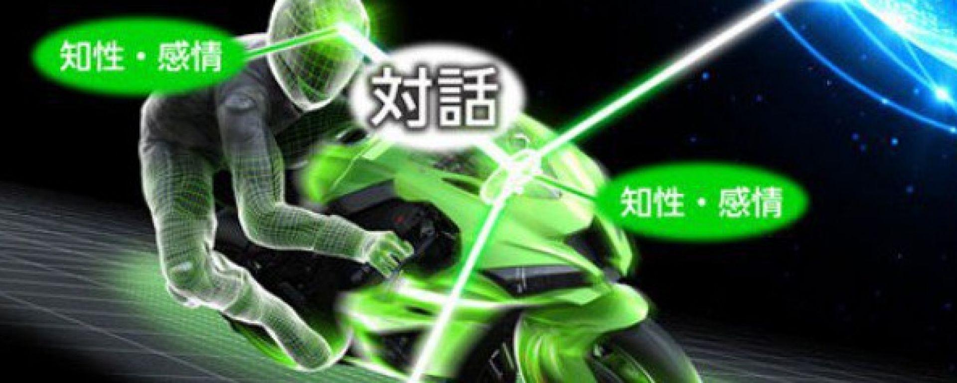 Kawasaki, moto con intelligenza artificiale