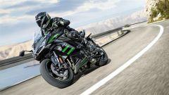 Kawasaki Ninja 1000 SX 2020: in piega sulle strade della Spagna
