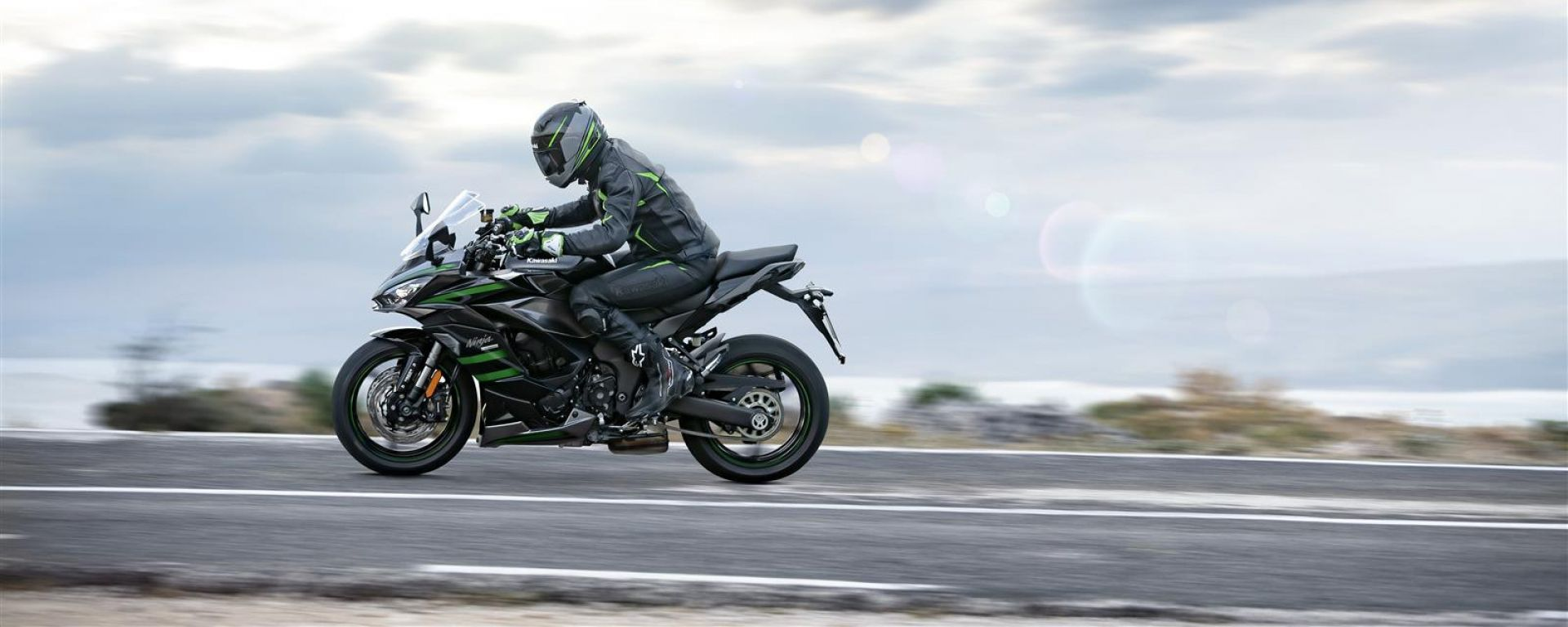 Kawasaki Ninja 1000 SX 2020: su strada più agile del previsto